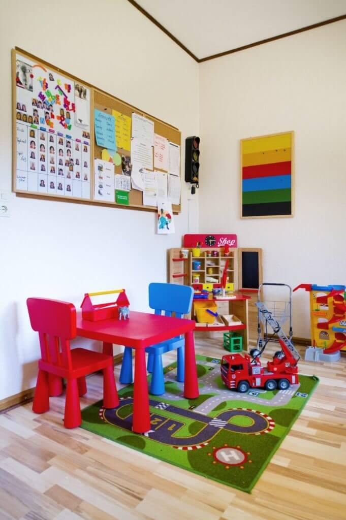 Spielecke für kleine Kinder