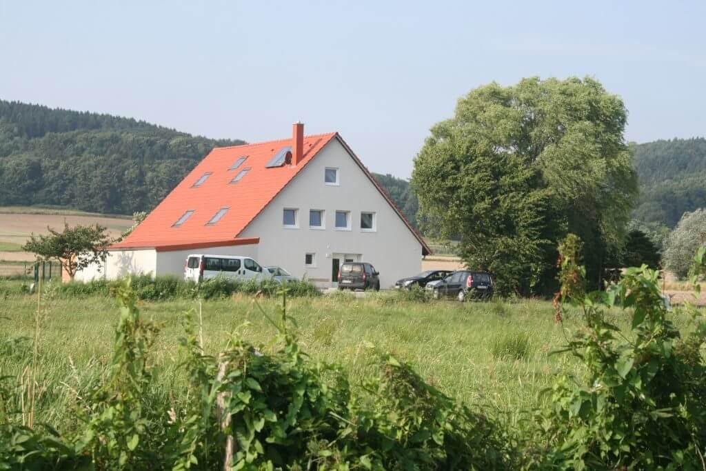 Außenansicht der Wohngruppe Maschweg